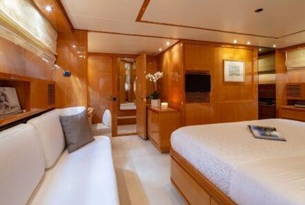 the bird motor yacht vip suite (8) min - Valef Yachts Chartering