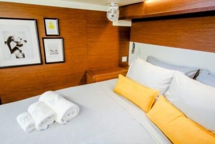 valium 52 catamaran cabin - Valef Yachts Chartering