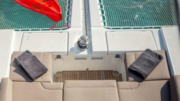 valium 52 catamaran lounge - Valef Yachts Chartering