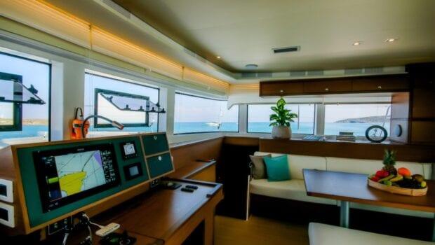 valium 52 catamaran salon (1) - Valef Yachts Chartering