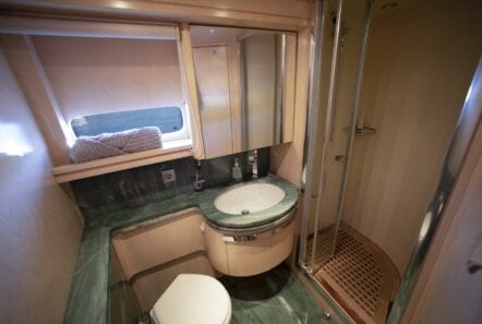 princess l motor yacht VIP Main Deck En suite min - Valef Yachts Chartering