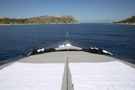 princess l motor yacht bow sunpads min - Valef Yachts Chartering
