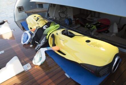 princess l motor yacht seabobs min - Valef Yachts Chartering