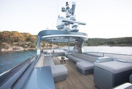 princess l motor yacht sundeck (3) min - Valef Yachts Chartering