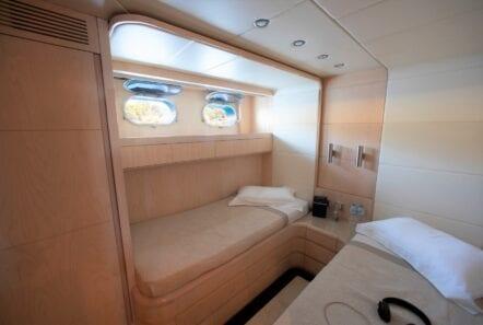 princess l motor yacht twin cabins (2) min - Valef Yachts Chartering
