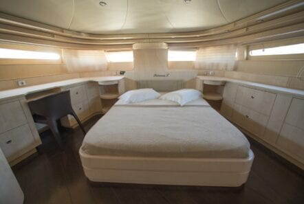 princess l motor yacht vip main deck min - Valef Yachts Chartering