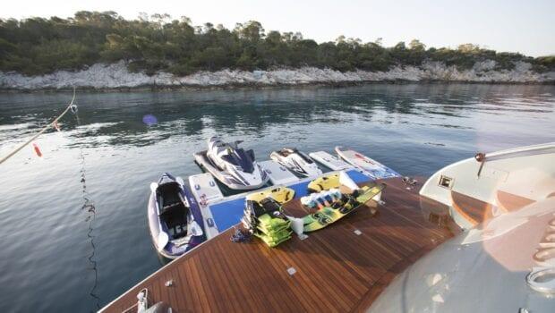 princess l motor yacht water toys (3) min - Valef Yachts Chartering