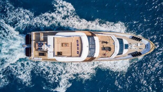 wide liberty motor yacht aerials (3) min - Valef Yachts Chartering