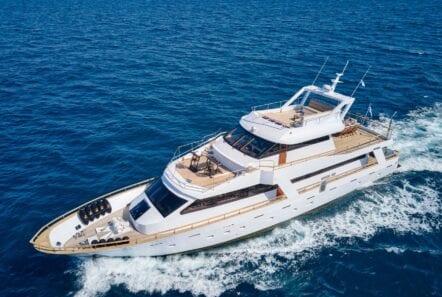 wide liberty motor yacht profile min - Valef Yachts Chartering